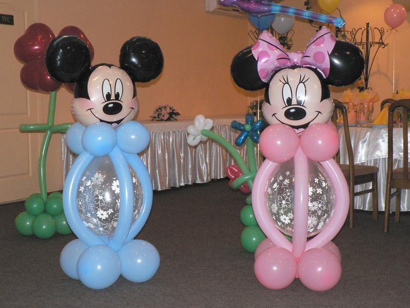Фигуры из воздушных шаров,